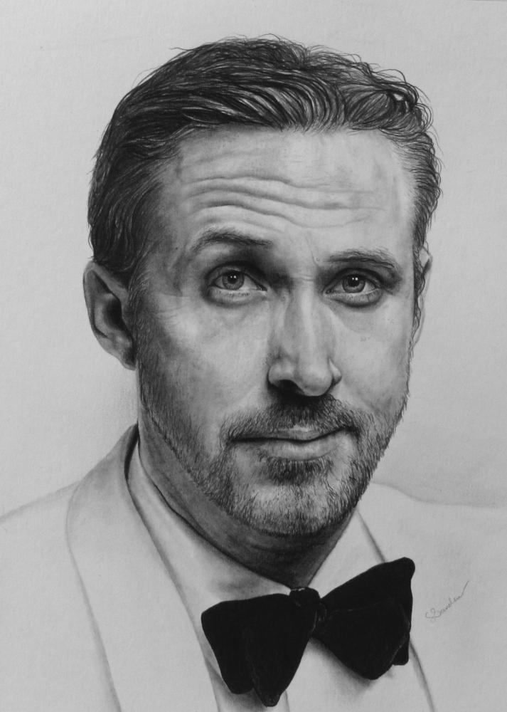 Ryan Gosling by lcsanders
